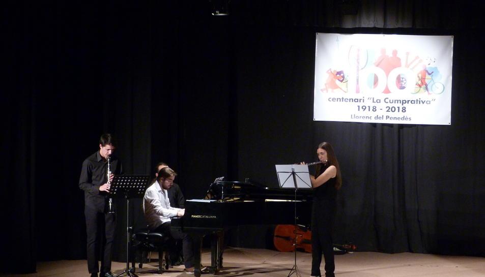 L'acte va comptar amb un concert de música clàssica a càrrec de joves de la comarca.