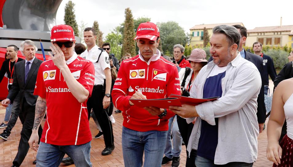 Kimi Räikkönen en PortAventura (1)