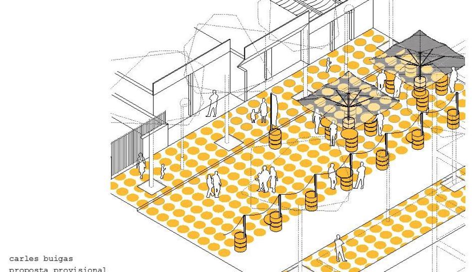 Imatge del projecte que es durà a terme a l'avinguda Carles Buïgas de Salou.