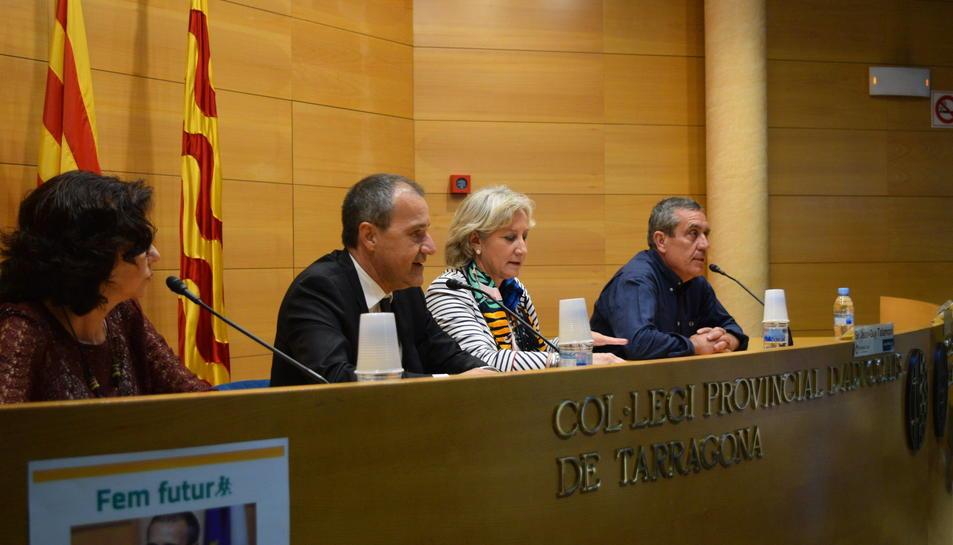 La conferència ha estat organitzada per l'Assemblea Nacional Catalana i Òmnium Cultural.