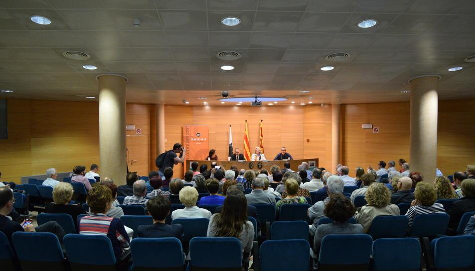Imatge de la conferència que ha tingut lloc