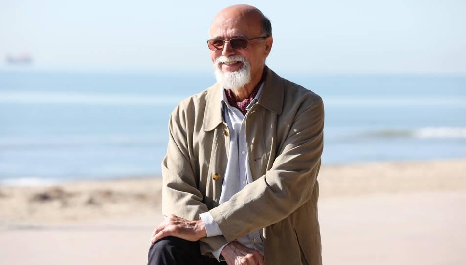 Esteve Grasset, delegat dels Amics del Desert a Tarragona.