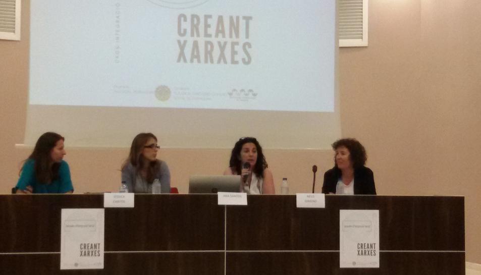 La jornada 'Creant Xarxes' s'ha celebrat aquest dimarts a l'institut Vidal i Barraquer.