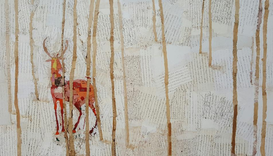 Una de les obres de l'exposició '