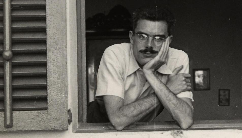 Gabriel Ferrater en una imatge d'arxiu.