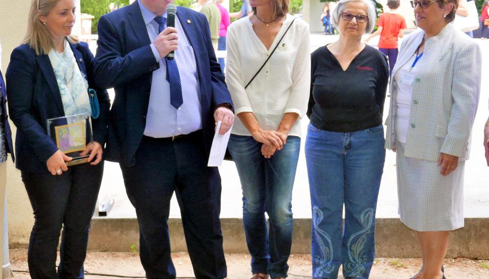 L'Arboç rep el testimoni de la XXXI Diada de la Puntaire de Catalunya 2018
