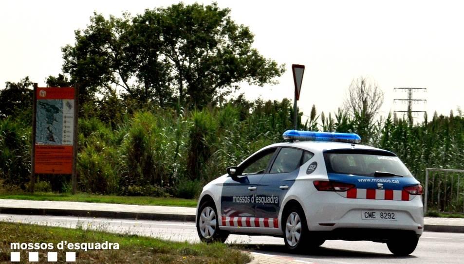 Imatge d'arxiu d'un cotxe policial.