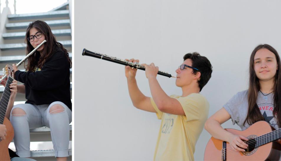 Imatge dels duets que actuaran el proper 19 de maig a la plaça de la Farinera.