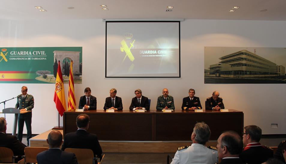 imatge de l'acte institucional del 173è aniversari de la fundació de la Guàrdia Civil.