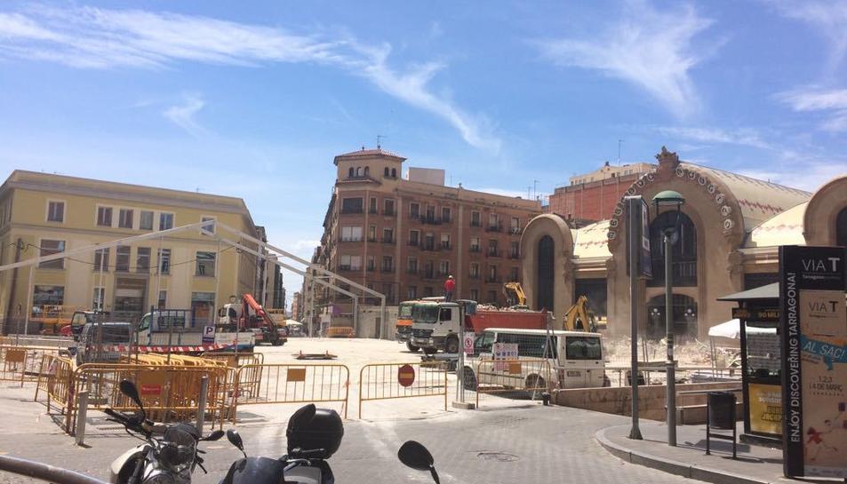 El Mercat Central provisional de Corsini ja és història.