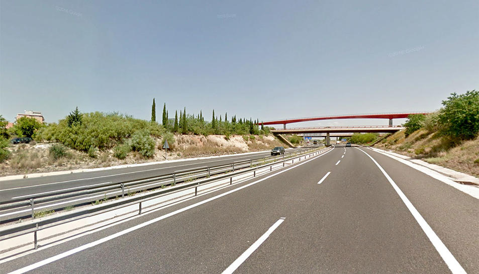 El tram afectat és el que passa pel terme de Vila-seca.