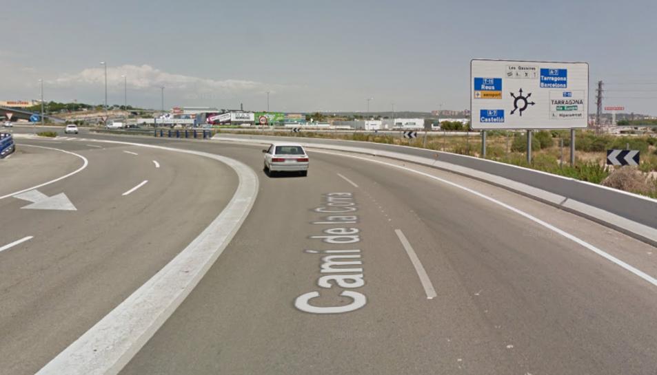 L'accident s'ha produït al Camí de la Coma de Tarragona.