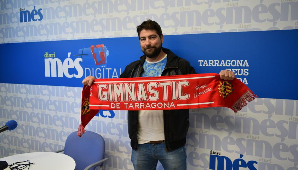 El gunayadors d ela bufanda va triar el millor del partit del Nàstic amb l'Oviedo