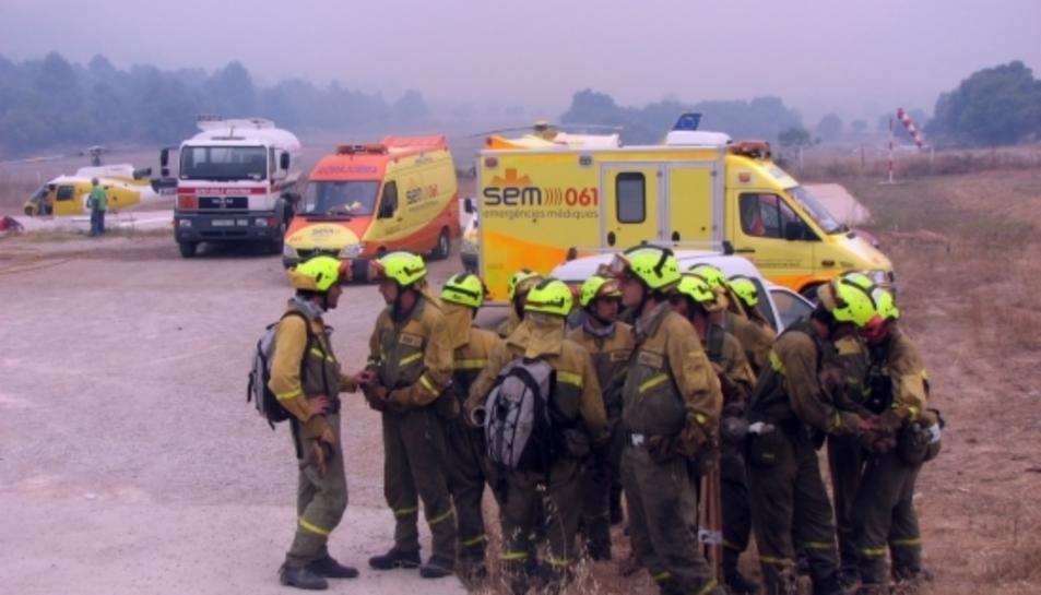 L'incendi d'Horta de Sant Joan, on van morir cinc Bombers, va calcinar centenars d'hectàrees d'espais protegits.