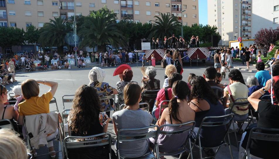 Imatge d'arxiu de les festes del barri de Sant Pere i Sant Pau, que se celebren la darrera setmana de juny.