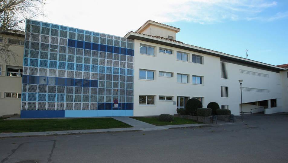 Façana de l'Institut Villablanca, en una imatge d'arxiu.
