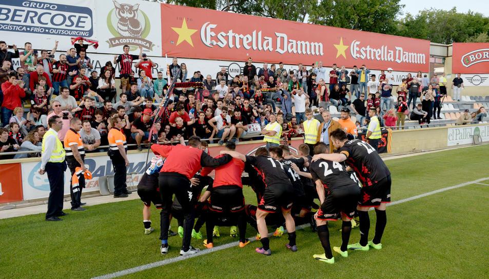 Reus celebra la permanència