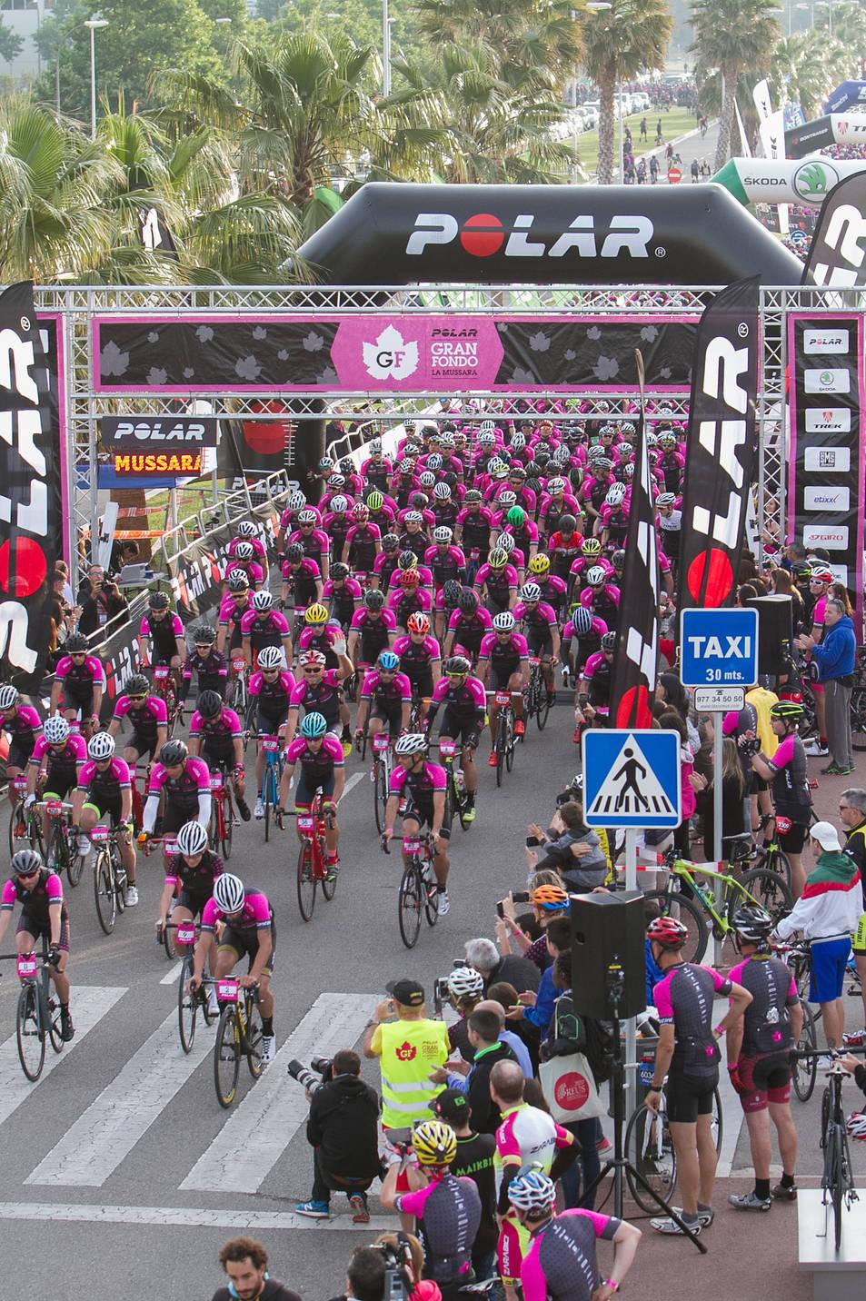 La salida de los ciclistas (1)