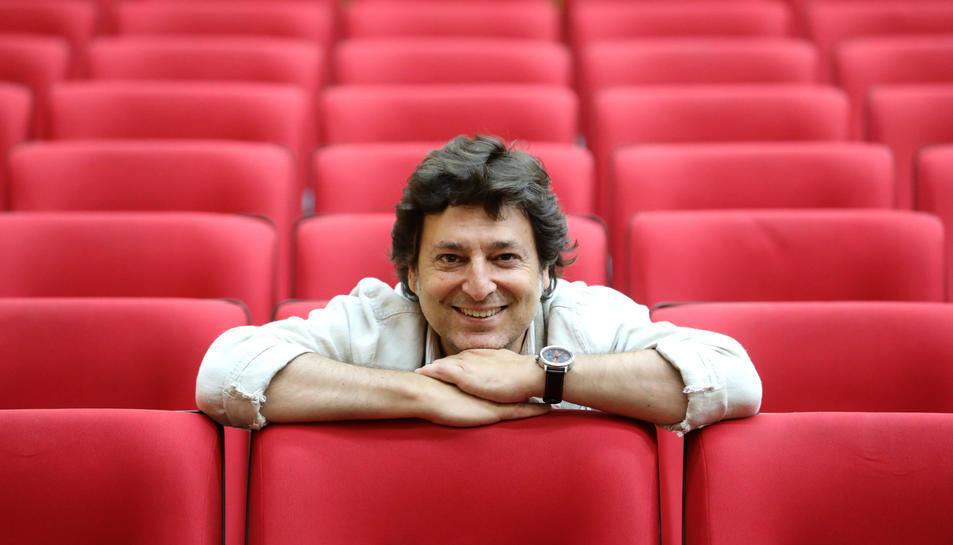 Marcel Gorgori el passat dimecres a Tarragona, on va impartir una conferència a l'Antiga Audiència.