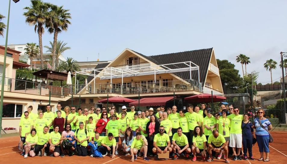 Imatge del 5è Torneig de Tennis Adaptat Ciutat de Tarragona.