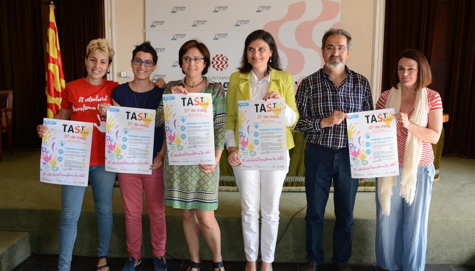 Imatge de la presentació de la 4a edició del TAST Social.