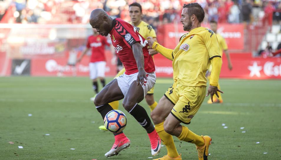Achille Emaná serà un jugador vital en els tres partits que resten de temporada. És màgia pura, i l'equip el necessita.