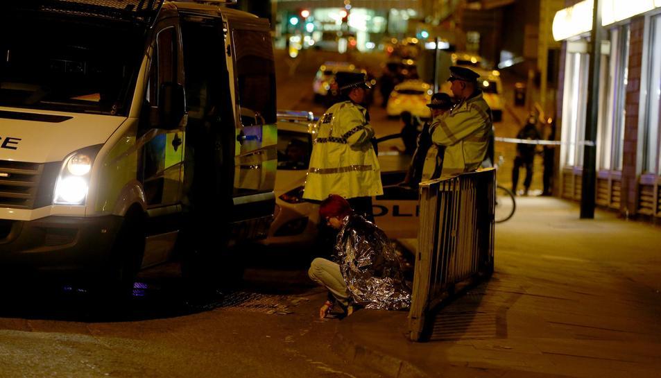 Almenys 22 persones han mort a causa de l'atemptat suicida.