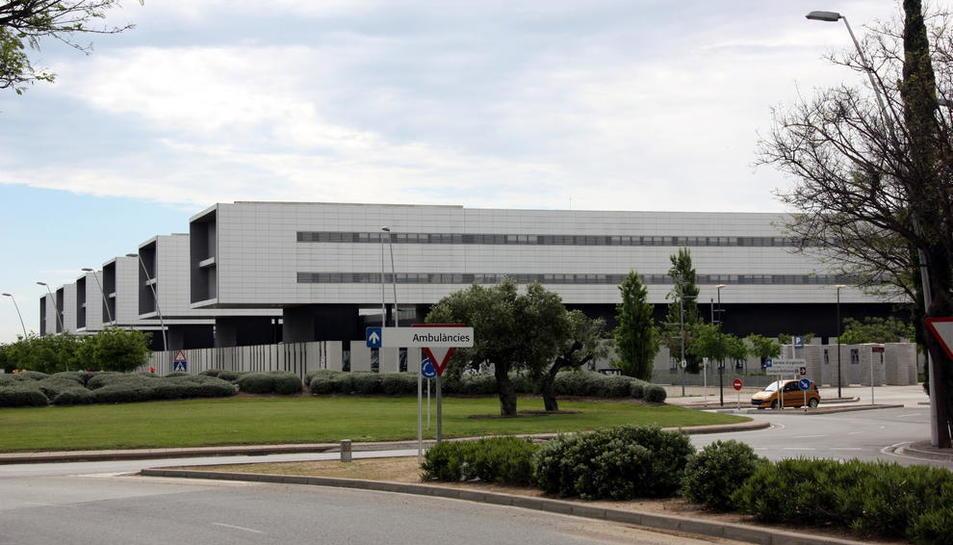 Una imatge d'arxiu de l'exterior de l'Hospital Sant Joan.