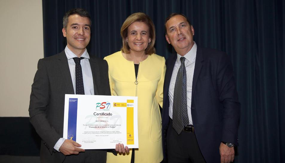 BASF va recollir el premi de mans de la