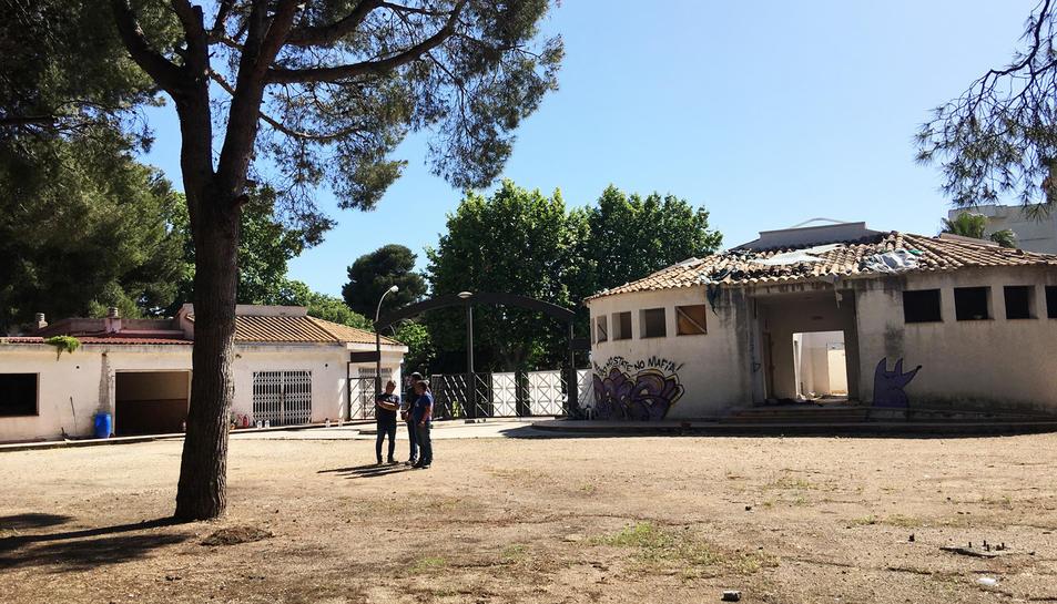 Imatgde de l'antic càmpig El Buen Vino, on s'instal·larà un parc d'activitats a l'aire lliure.
