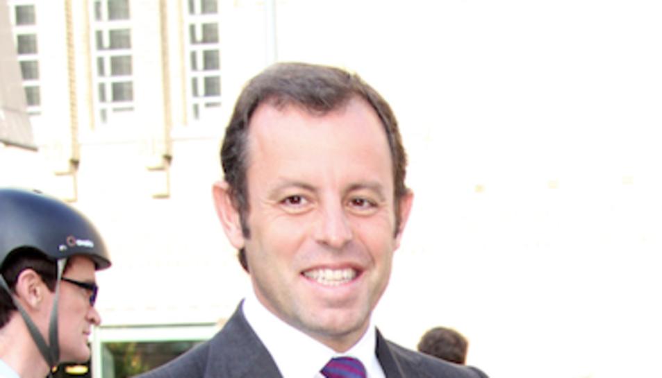 imatge d'arxiu de l'expresident del Barça, Sandro Rossell.