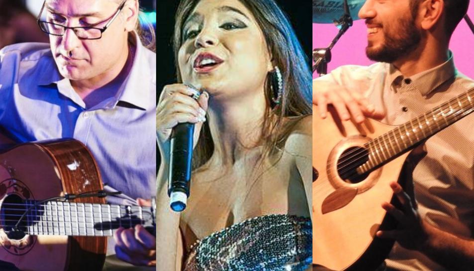 Imatge del cartell del concert de fado que oferirà el porter del Reus Deportiu d'hoquei, Pedro Henriques, junt a la cantant Elsa