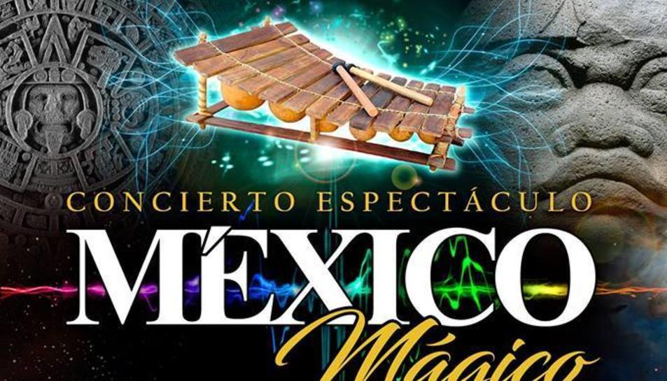 Imatge del cartell del concert espectacle 'México Mágico'.