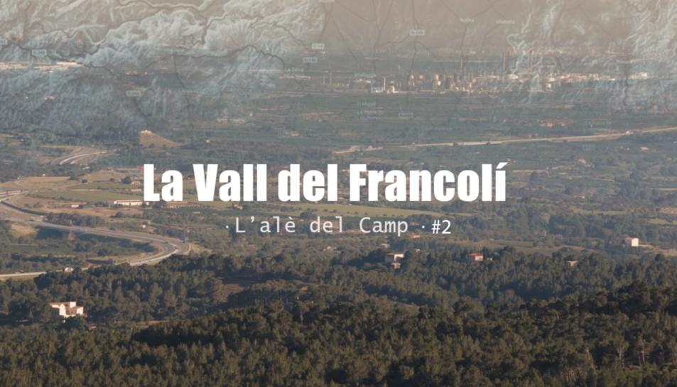 En aquesta segona peça es realitza una mirada cap el paisatge de la Vall del Francolí.