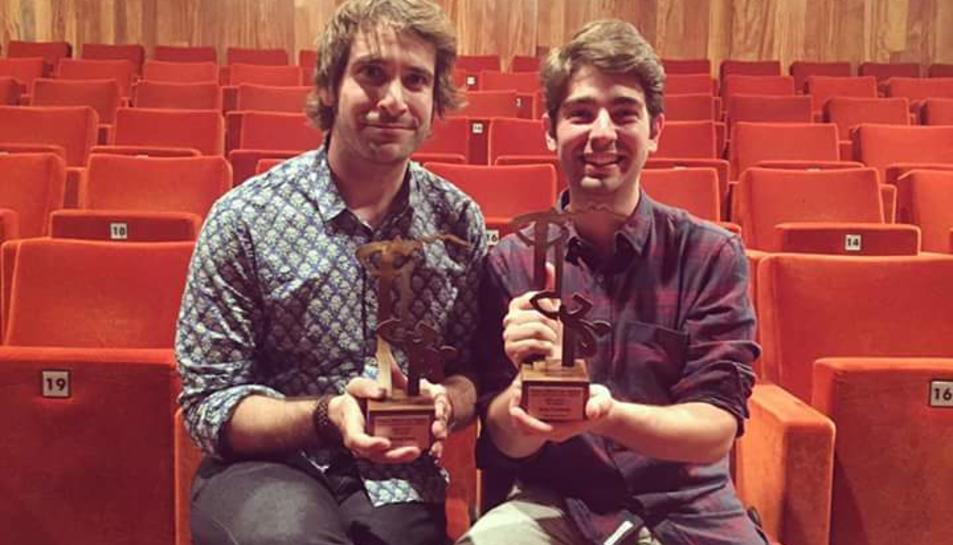 Ricard Farré va rebre el guardó durant la gala dels Premis BBVA de Teatre 2017.
