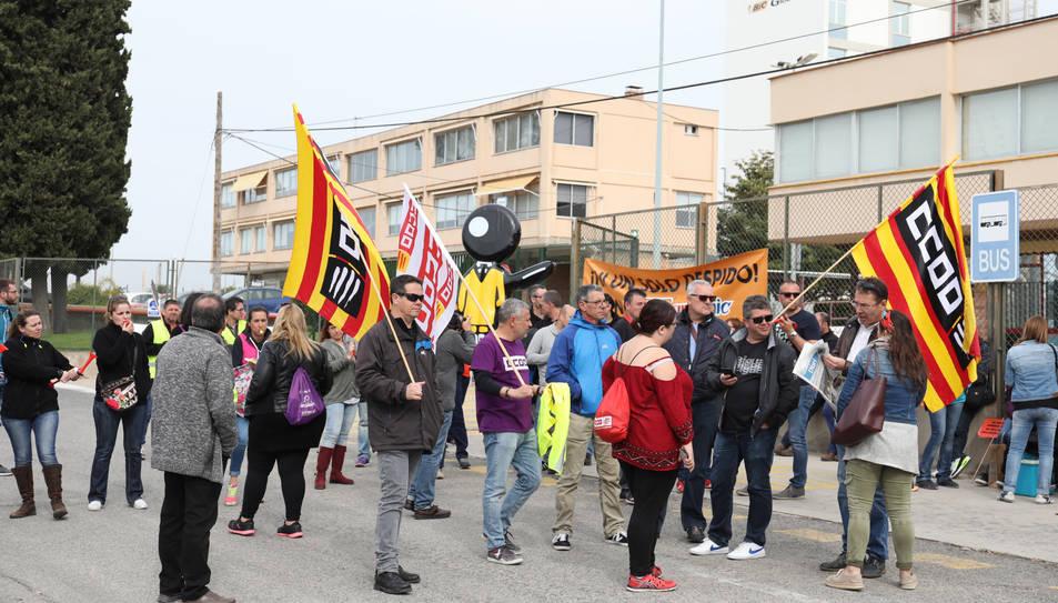 Imatge d'arxiu d'una de les protestes que han realitzat els treballadors de Bic Graphic.