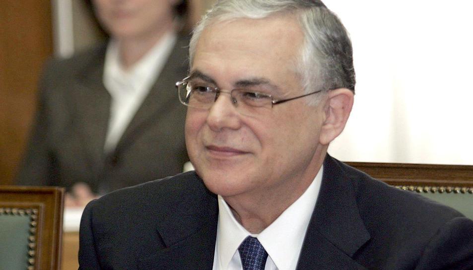 L'excap del govern grec, Luás Papadimos, en una imatge d'arxiu.