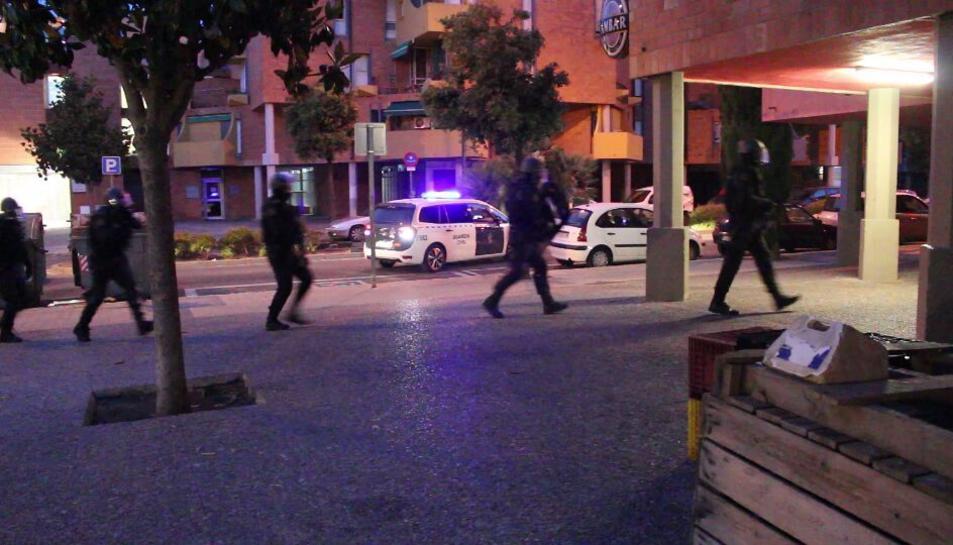 L'operació policial antidroga s'ha iniciat a les 6 de la matinada.