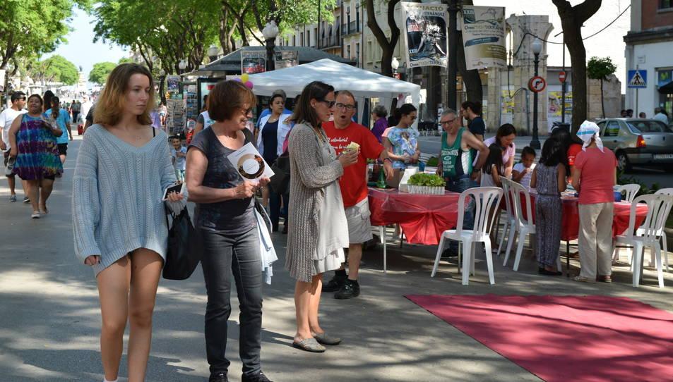 TAST Social a la Rambla Nova de Tarragona