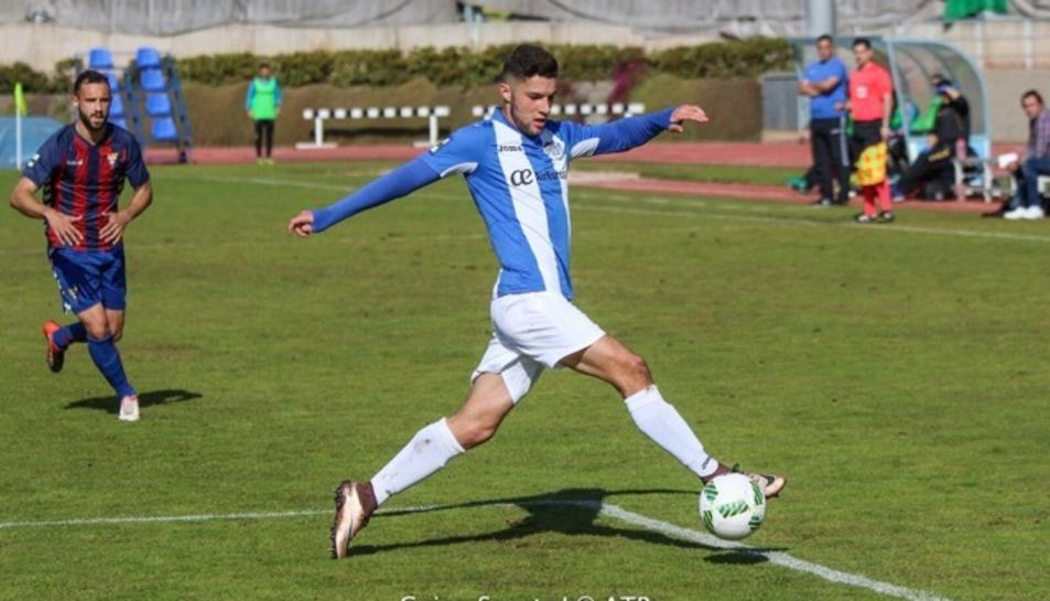 Tete Morente, amb la samarreta de l'Atlètic Balears.