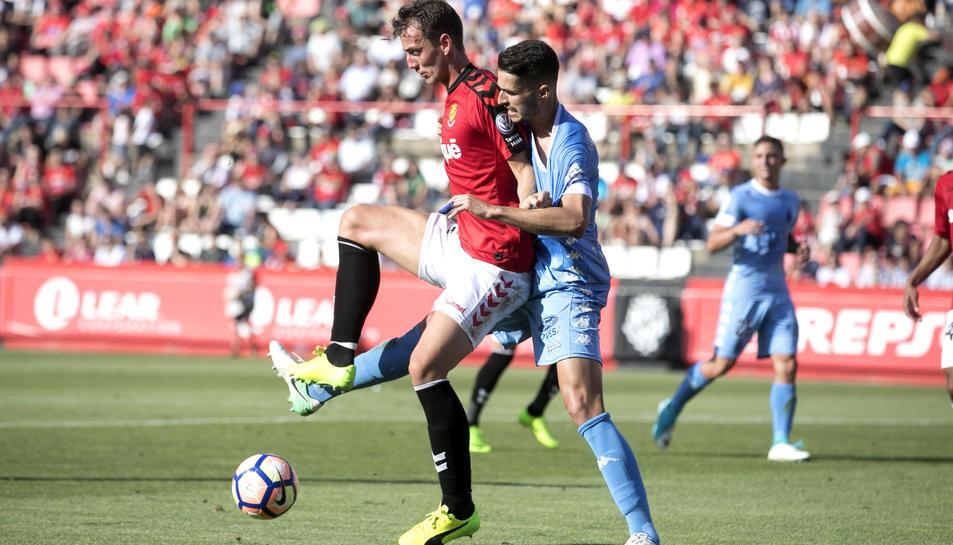 Manu Barreiro, a la primera meitat.