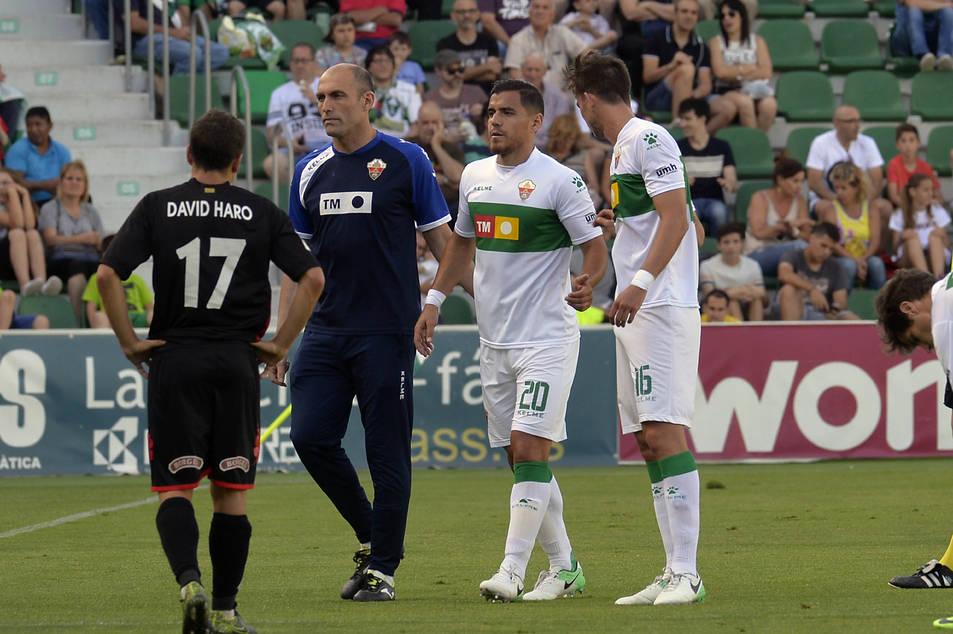 David Haro va disposar de bones ocasions per posar el CF Reus per davant.