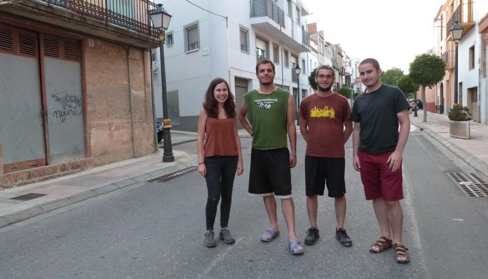 D'esquerra a dreta, Marina Barberà, Julià Gómez, Roger Gonzàlez i Mario Gonzàlez.