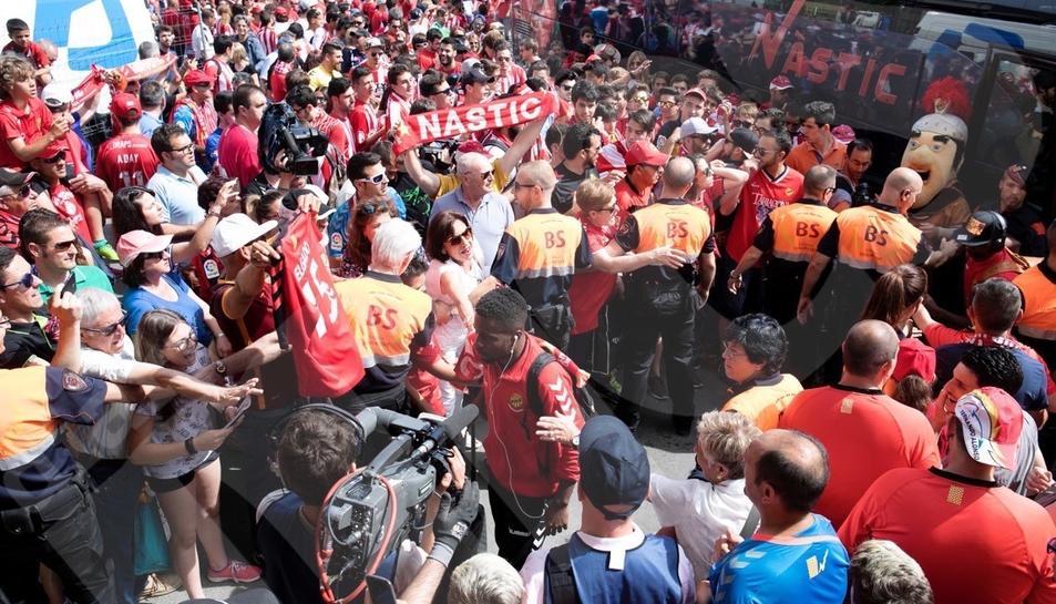 El Nàstic derrota al Girona i surt del descens.1