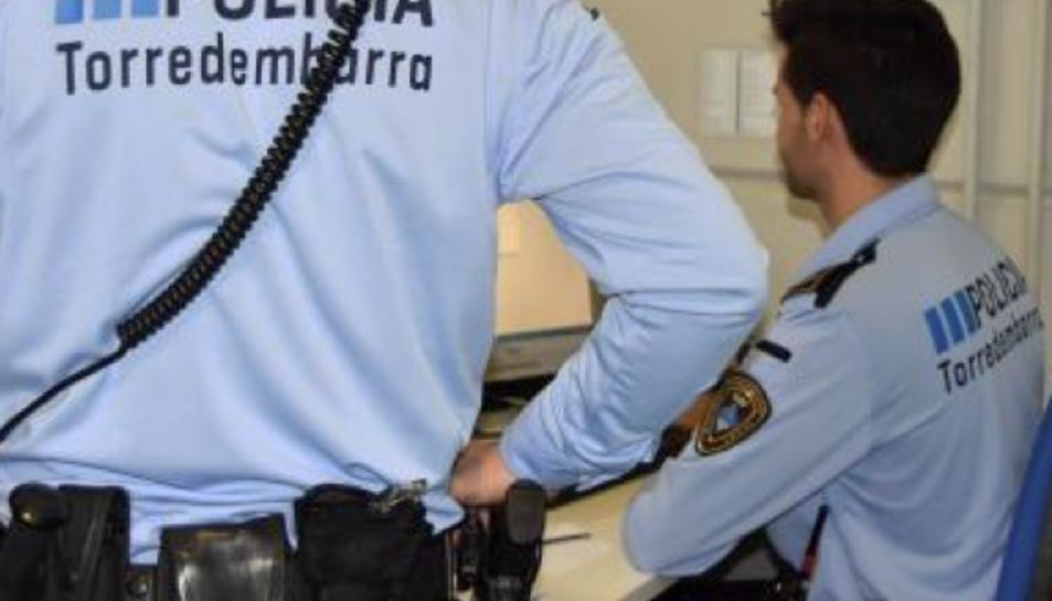 Imatge d'arxiu de la Policia Local de Torredembarra.