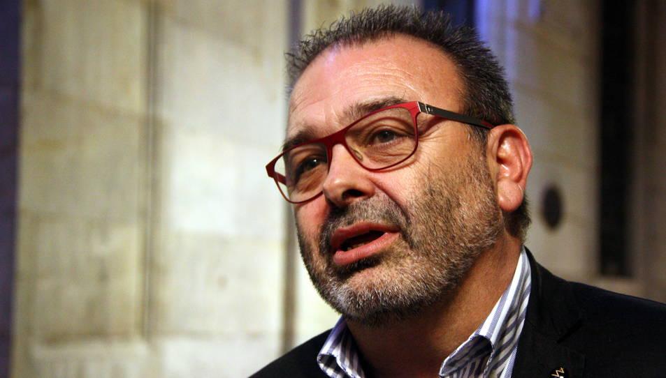 El fins ara gerent de l'EMT, Mario Cortés, en una imatge d'arxiu de l'octubre del 2015.