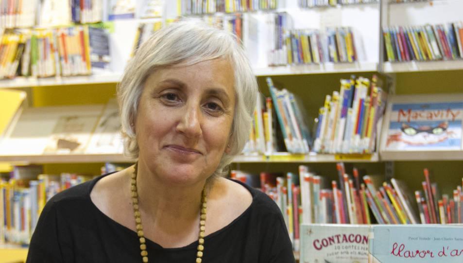 Núria Llebaria és la directora de la Biblioteca pública de Vila-seca.