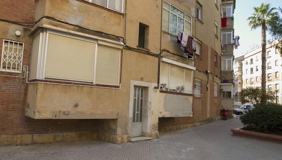 Imatge de la Glorieta Priorial del barri Fortuny.