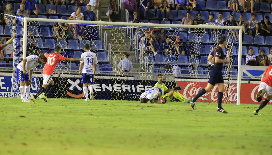 El Nàstic va guanyar la passada temporada a l'Heliodoro Rodríguez López 1-2.
