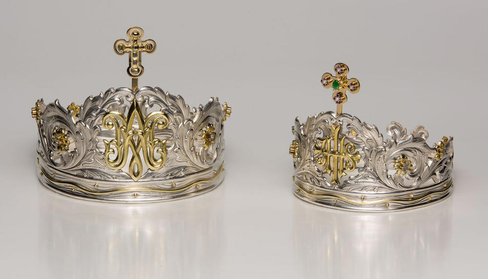 Imatge de les noves corones.
